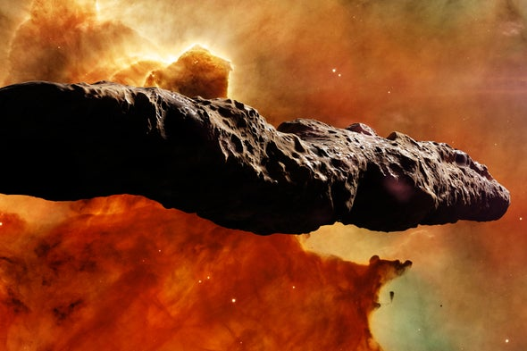 A Possible Link between 'Oumuamua and Unidentified Aerial Phenomena