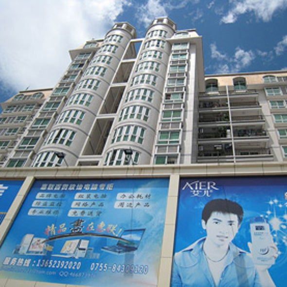 China Tackles Energy-Wasting Buildings