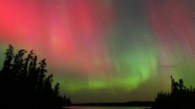 Northern Lights Go South: Geomagnetic Storm Lights U.S. Skies with Auroral Display
