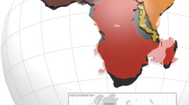 Africa Dwarfs China, Europe and the U.S.