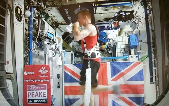 British Astronaut Tim Peake Sets Off-World Record Running Marathon in Space