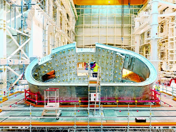 World's Largest Fusion Reactor Begins Assembly