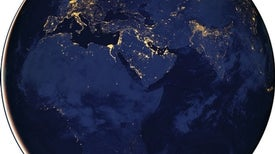 New Satellite Sensor Sees Earth at Night Almost as If It Were Day