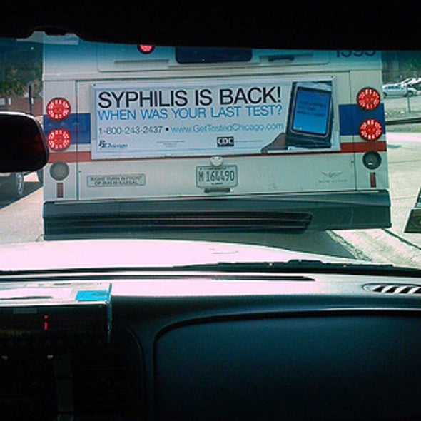 1998: Syphilis Genome Sequenced; 2008: Syphilis on the Rise