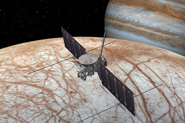 NASA Has Committed to a Rocket for the Europa Mission—and It Won't Be Ready on Time