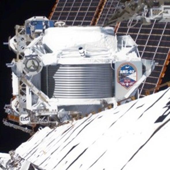 Dark Matter Signal Possibly Registered on International Space Station