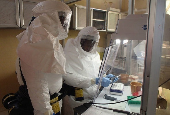First Ebola Case Diagnosed in the U.S.
