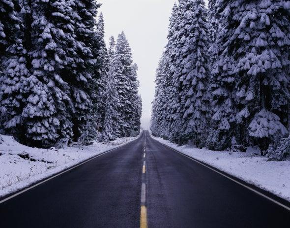 Asphalt Roads Could De-Ice Themselves