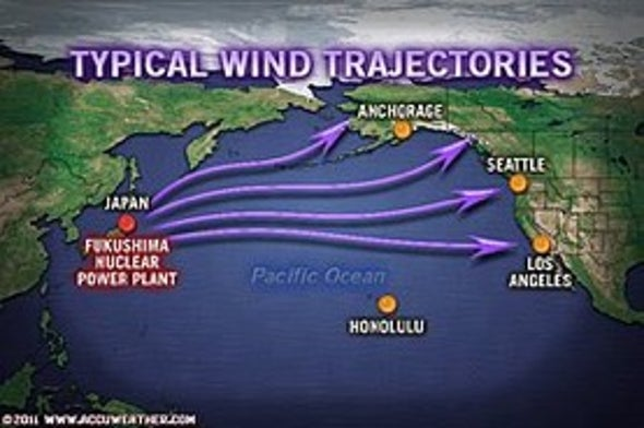 How Weather Could Link Japan Radiation to U.S.