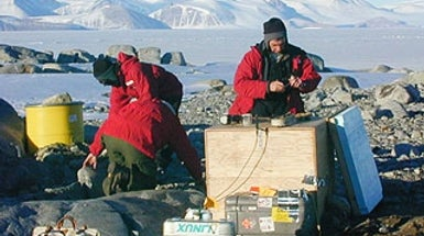Monitoring Antarctic Ice Movement Is a Sticky Business