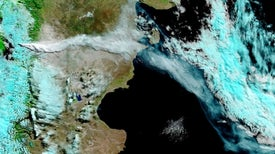 Volcano Blankets Chile in Dust
