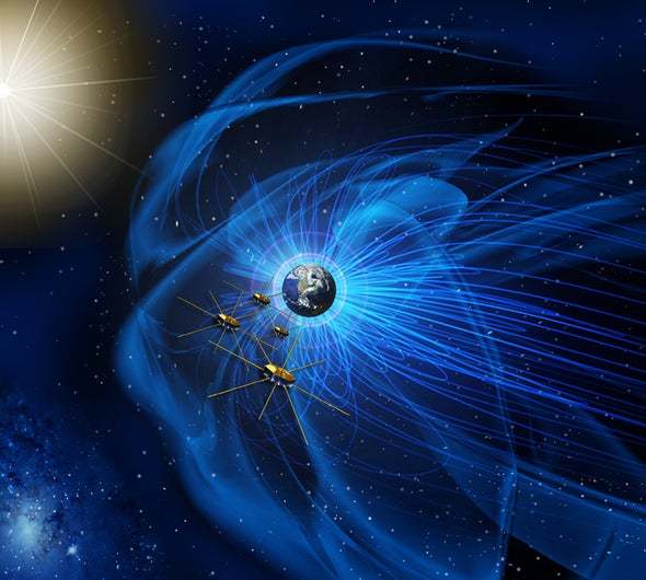 NASA Probes Witness Powerful Magnetic Storms near Earth