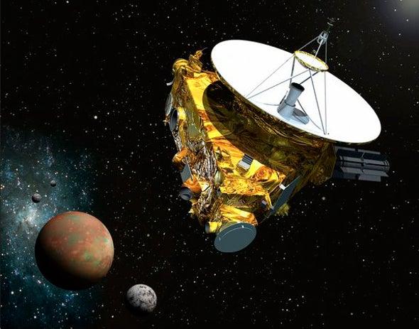 "Pluto Probe to Wake from ""Hibernation"" Next Month"