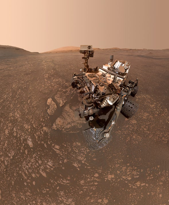"""Mars Rover Detects """"Excitingly Huge"""" Methane Spike"""