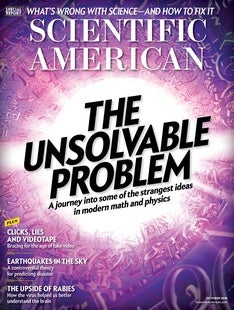 Scientific American Volume 319, Issue 4
