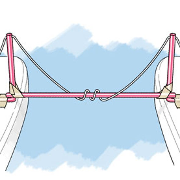 Feel the Forces of a Suspension Bridge