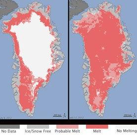 Greenland Sets New Summer Melt Record