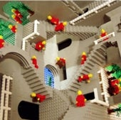 If Escher Can Do It, Legos Can, Too