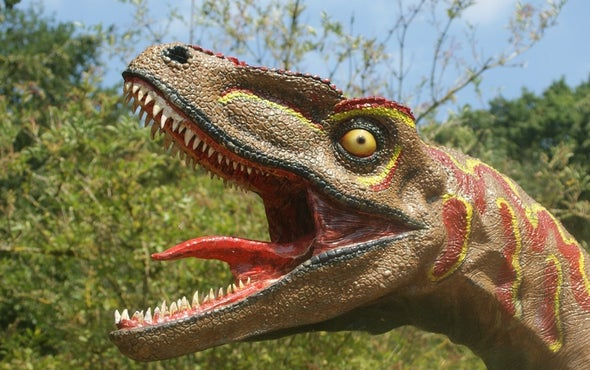 T. Rex Couldn't Stick Out Its Tongue