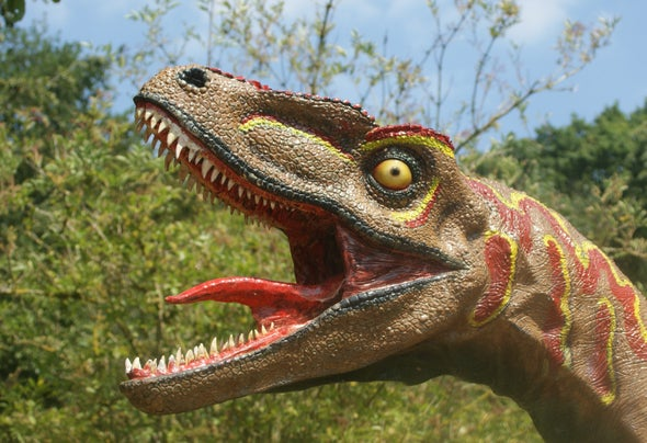 T  rex Couldn't Stick Out Its Tongue - Scientific American