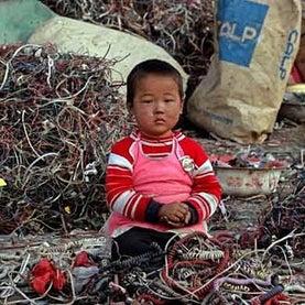 garbage, trash, landfill, methane, china