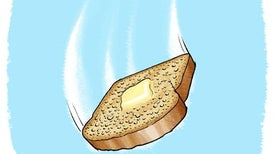 Falling Buttered Toast
