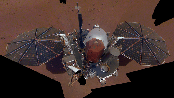 """First """"Marsquake"""" Detected on Red Planet"""