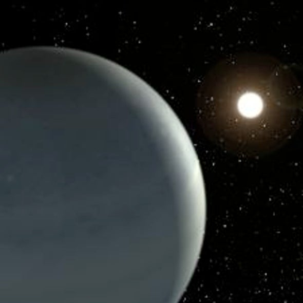 A Warm Jupiter: A Newfound Exoplanet Bears a Resemblance to the Solar System's Own Worlds