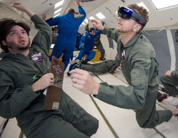 82a4a31547f0 NASA Showcases Virtual Reality for Space Exploration - Scientific ...