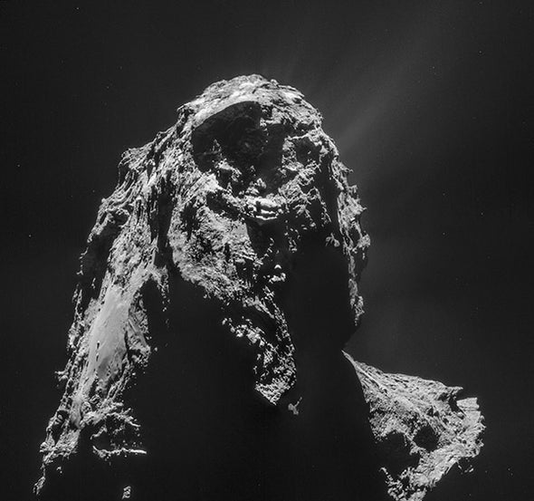 Strange Comet Discoveries Revealed by Rosetta Spacecraft