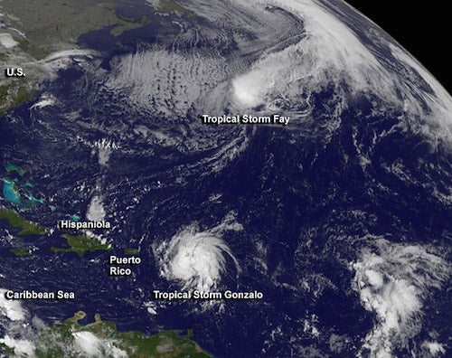 What's Behind Recent Flurry of Hurricane Activity?