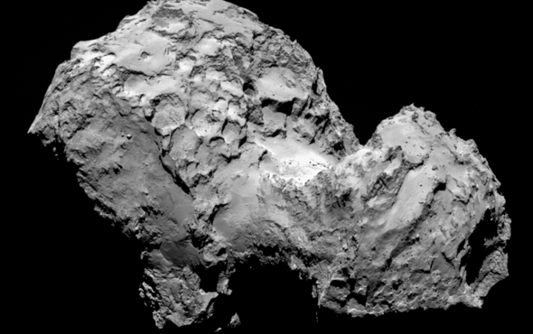 Rosetta Mission Confirms Comets' Antiquity