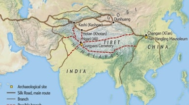 Archaeologists Uncover Another Branch of the Silk Road