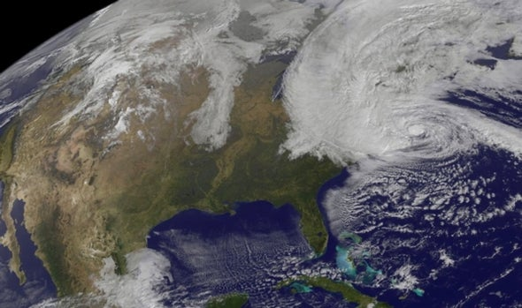 Hurricane Sandy Surges toward Northeast U.S.