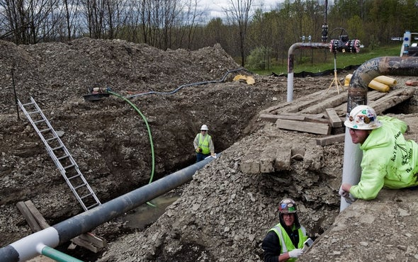 EPA Says Fracking Harms Drinking Water in Some Circumstances