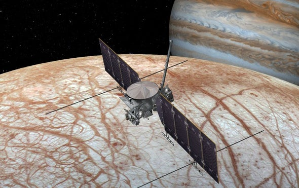 NASA's Mission to Europa Enters Design Phase