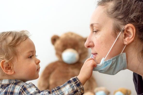 Οι μάσκες μπορούν να είναι επιζήμιες για την ομιλία και την ανάπτυξη της γλώσσας των μωρών