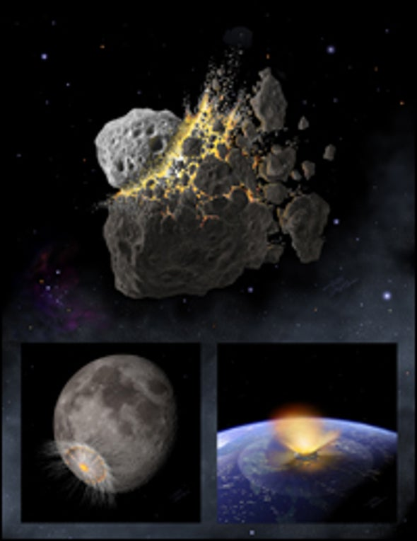 Asteroid Smashup May Have Wiped Out the Dinosaurs