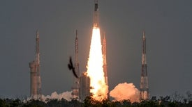 India Loses Contact with Lunar Lander