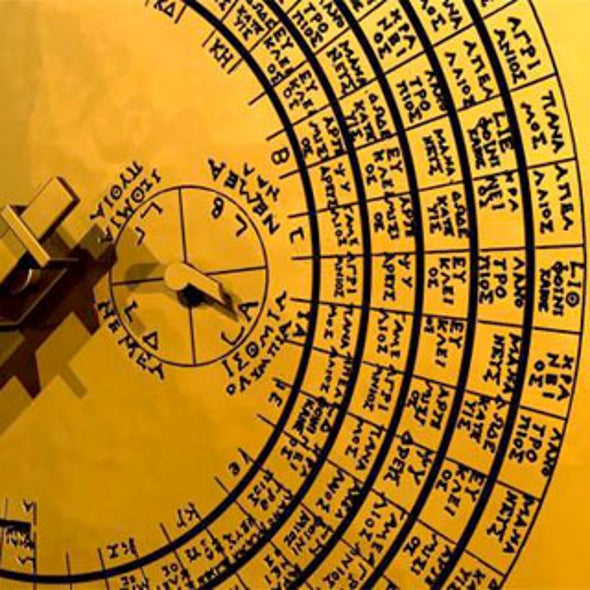 Ancient Greek Eclipse Calculator Marked Olympics