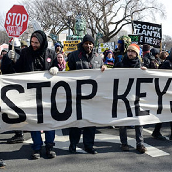 Keystone XL Oil Pipeline Exacerbates Climate Change