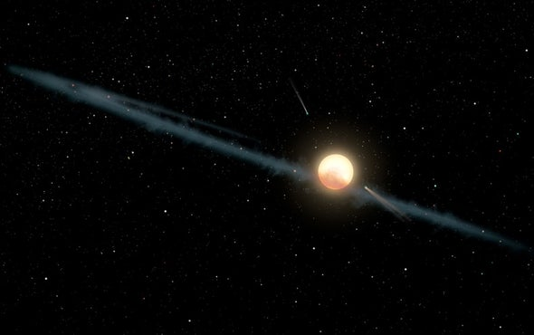 Dust, Not Aliens, Is Likely Cause of Star's Weird Dimming