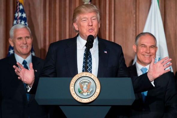 Trump's Team Is Split over the Paris Agreement