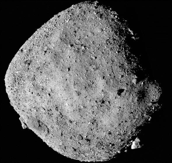 NASA Probe Finds Higher Chance of Asteroid Bennu Striking Earth