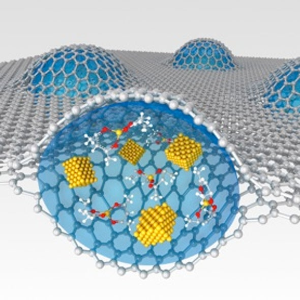 Nanorama: Graphene Bubbles Showcase Liquids with Atomic-Scale Resolution