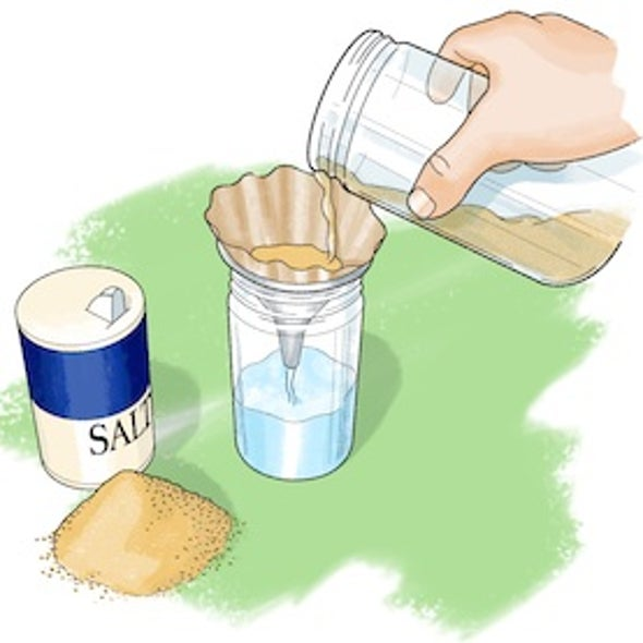 Salty Science: How to Separate Soluble Solutions