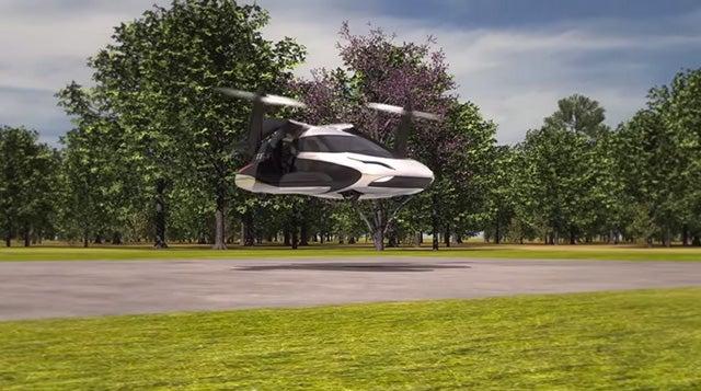 Future Flying Car Solves Parallel Parking Problem