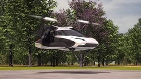 Future Flying Car Solves Parallel Parking Problem