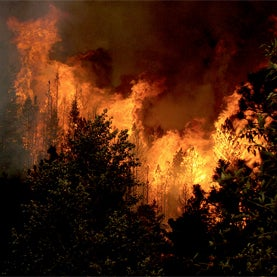 Fire Deficit May Trigger Fiercer Wildfires