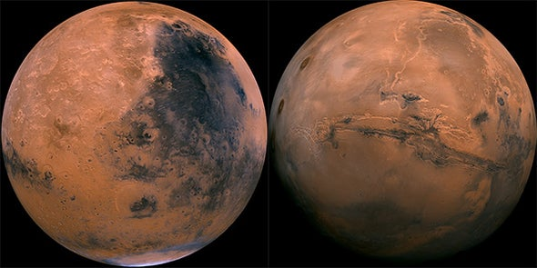 Giant Asteroid Collision May Have Radically Transformed Mars